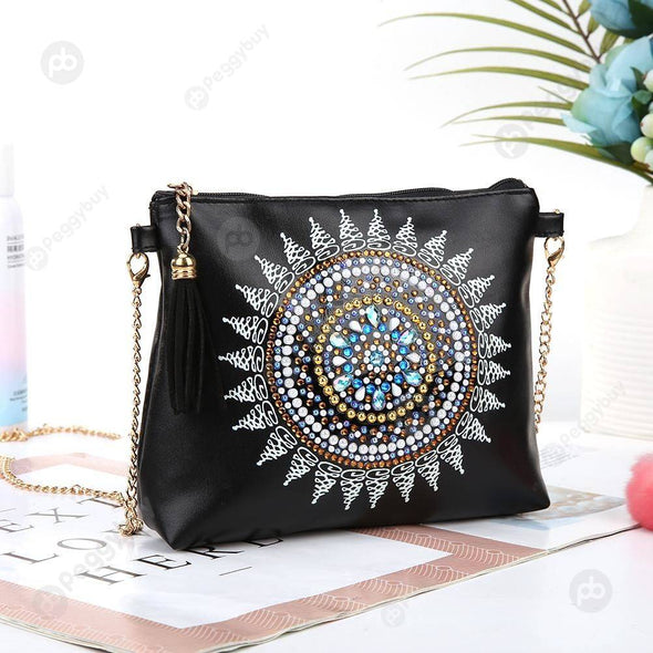 Chain Clutch Gift-DIY Creative Diamond Wristlet Bag