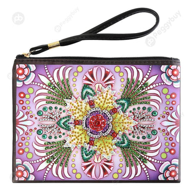 Colorful-DIY Creative Diamond Wristlet Bag