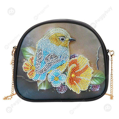 Bird Gifts-DIY Creative Diamond Wristlet Bag