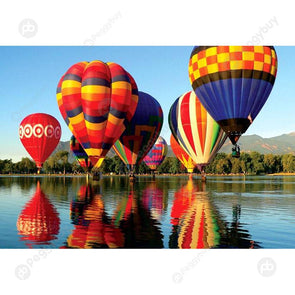 75 X 50cm 1000 Pieces Hot Air Balloon Adult Assembling Paper Jigsaw Puzzles