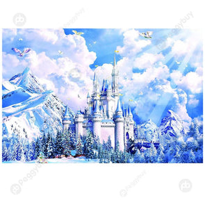1000pcs Painting Puzzle DIY Paper Jigsaw Educational Toys (C City of Sky)