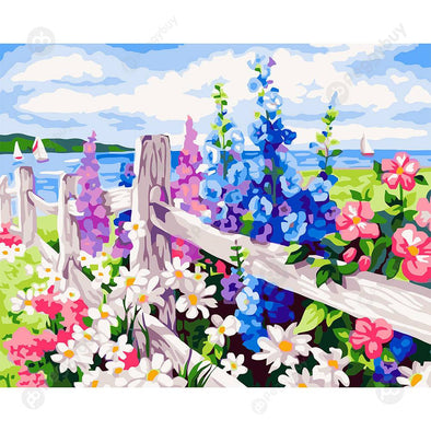 40*50CM Paint By Numbers-Flower Sea