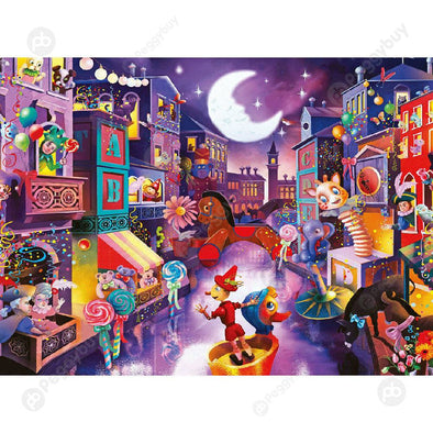 1000pcs Paper Puzzles DIY Jigsaw Puppet City Kid Adult Educational Toy Gift