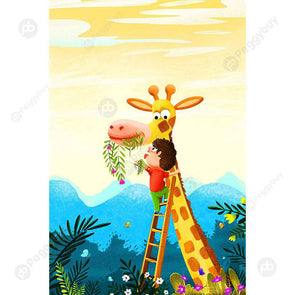 1000pcs Giraffe Kids Jigsaw DIY Paper Puzzle Assembling Cartoon Picture Toy