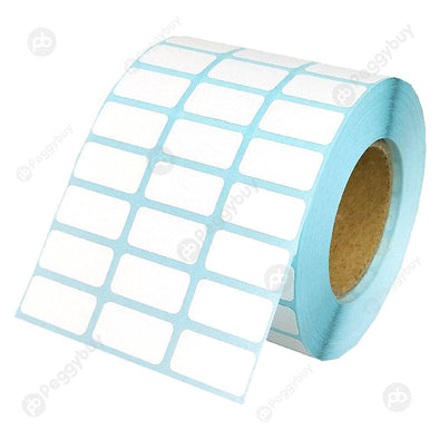 Waterproof Adhesive Thermal Paper Label Blank Print Stickers (5000pcs/Roll)