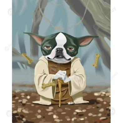 40*50CM Paint By Numbers-Boston Terriers