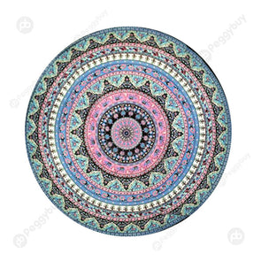 140 X 140cm Round Mandala Tapestry Wall Hanging Carpet Beach Yoga Mat (5)