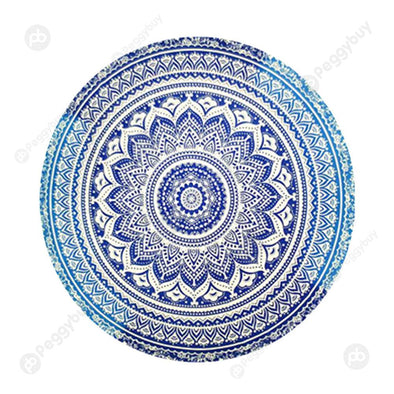 140 X 140cm Round Mandala Tapestry Wall Hanging Carpet Beach Yoga Mat (7)