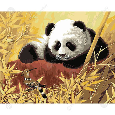40x50cm Panda Painting By Numbers Modern Wall Oil Art Picture Home Decors