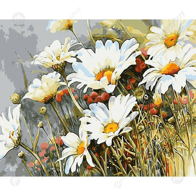 40*50CM Paint By Numbers-Daisy Plants