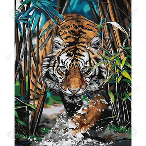 40*50CM Paint By Numbers-Tigers