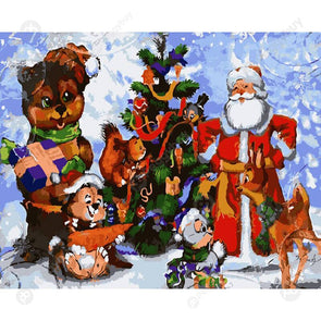 40*50CM Paint By Numbers-Santa Claus