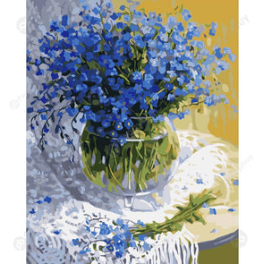 40*50CM Paint By Numbers-Flower