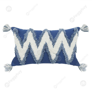 Nordic Style Pillow Case Sofa Cushion Cover Pillowslip (W-shaped 30x50cm)