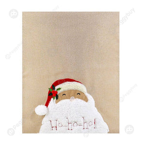 Christmas Dinner Restaurant Non Woven Chair Cover Chair Back Covers (G)