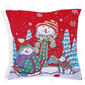 Christmas Pillow Case Festival Pillowslip Xmas Ornaments Home Decor (C)