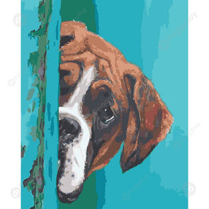 40*50CM Paint By Numbers-Dog
