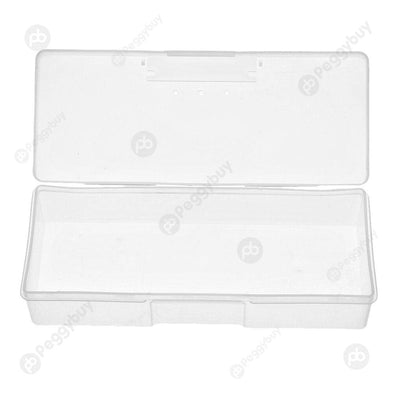 Nail Supplies Tools Storage Box Can Be Mounted Push Sand Bars (White)