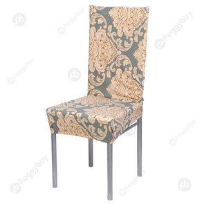 Removable Stretch Elastic Slipcovers Home Stoo Seatl Chair Covers A