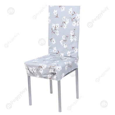 Removable Stretch Elastic Slipcovers Home Stoo Seatl Chair Covers D