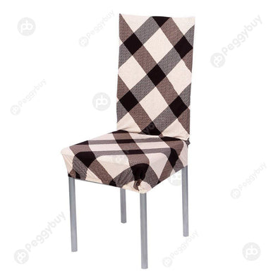 Removable Stretch Elastic Slipcovers Home Stoo Seatl Chair Covers E