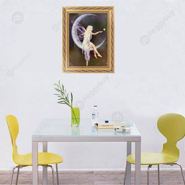 30*40CM Special Shaped Diamond Painting-Angel
