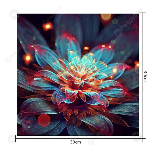 30*30CM Special Shaped Diamond Painting-Magic Flower