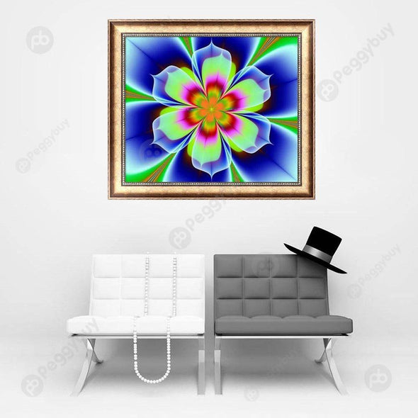 34*30CM Special Shaped Diamond Painting-Mandala