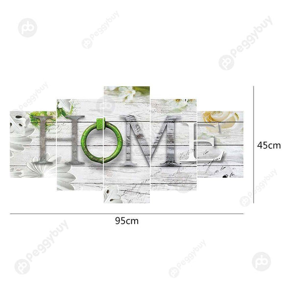 95*45CM Multi-picture Diamond Painting-5pcs-Home