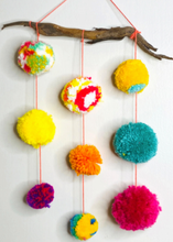 Load image into Gallery viewer, Pom Pom Wall Art