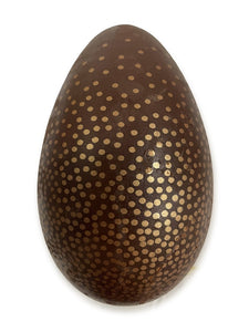 Easter Egg - Dotted - Dark or Milk Chocolate