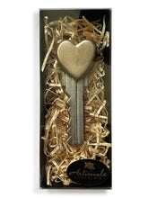 Load image into Gallery viewer, Heart Key - Dark, Milk or White Chocolate - Gift Box