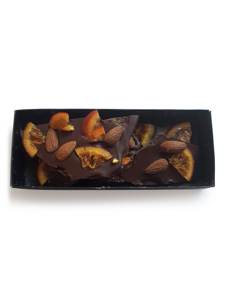 Orange & Almond - Dark 67% - Gift Box