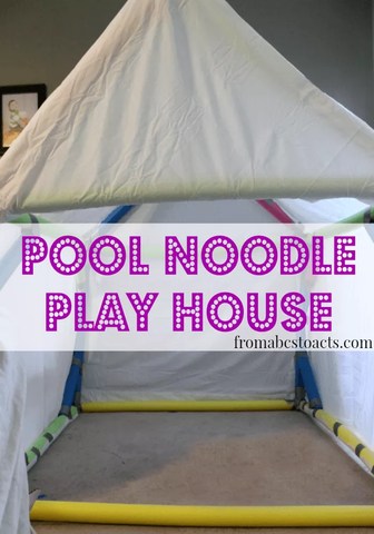 Pool Noodle Playhouse