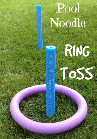 Pool Noodle Ring Toss