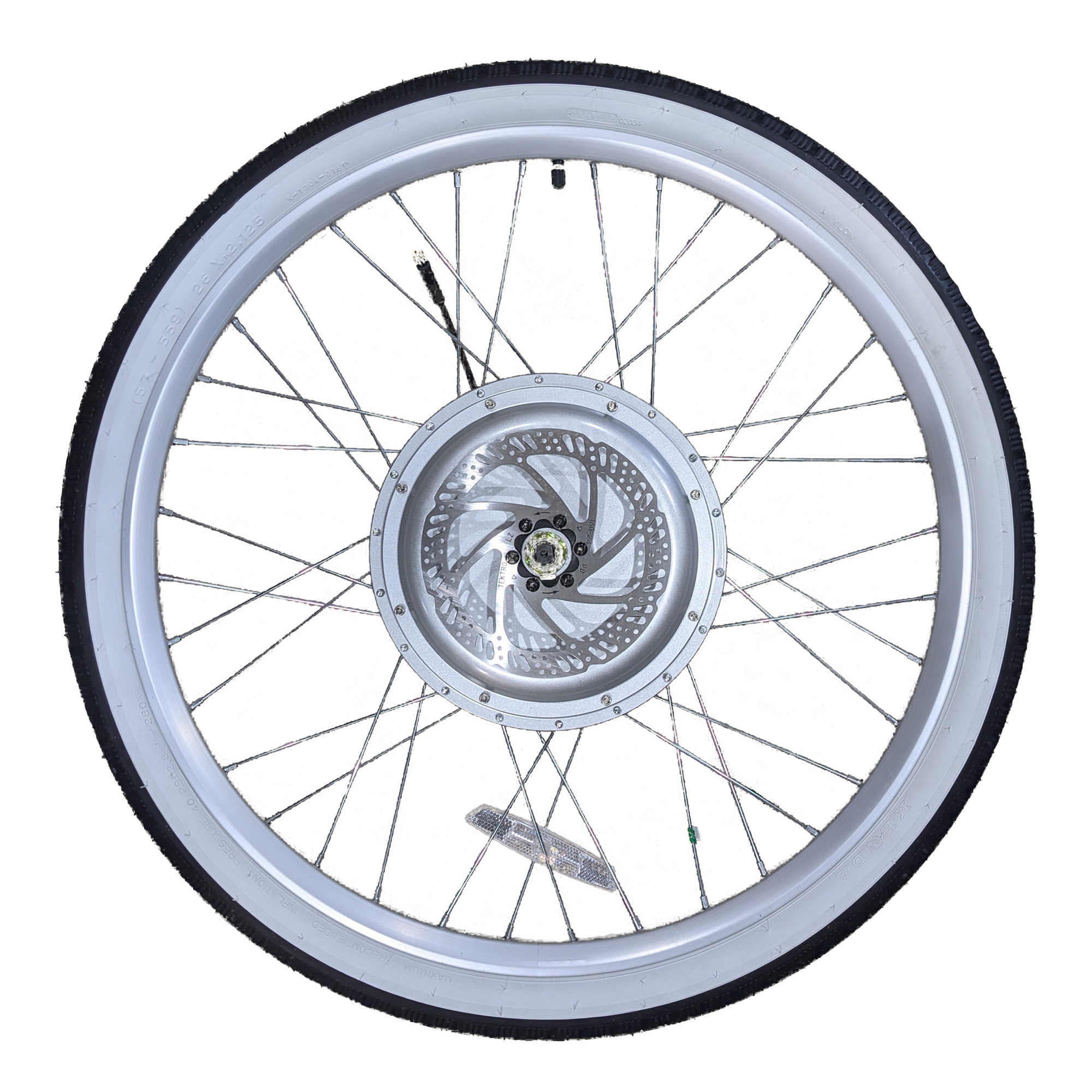 Cruiser Bike Rear Wheel with Tire and Brake
