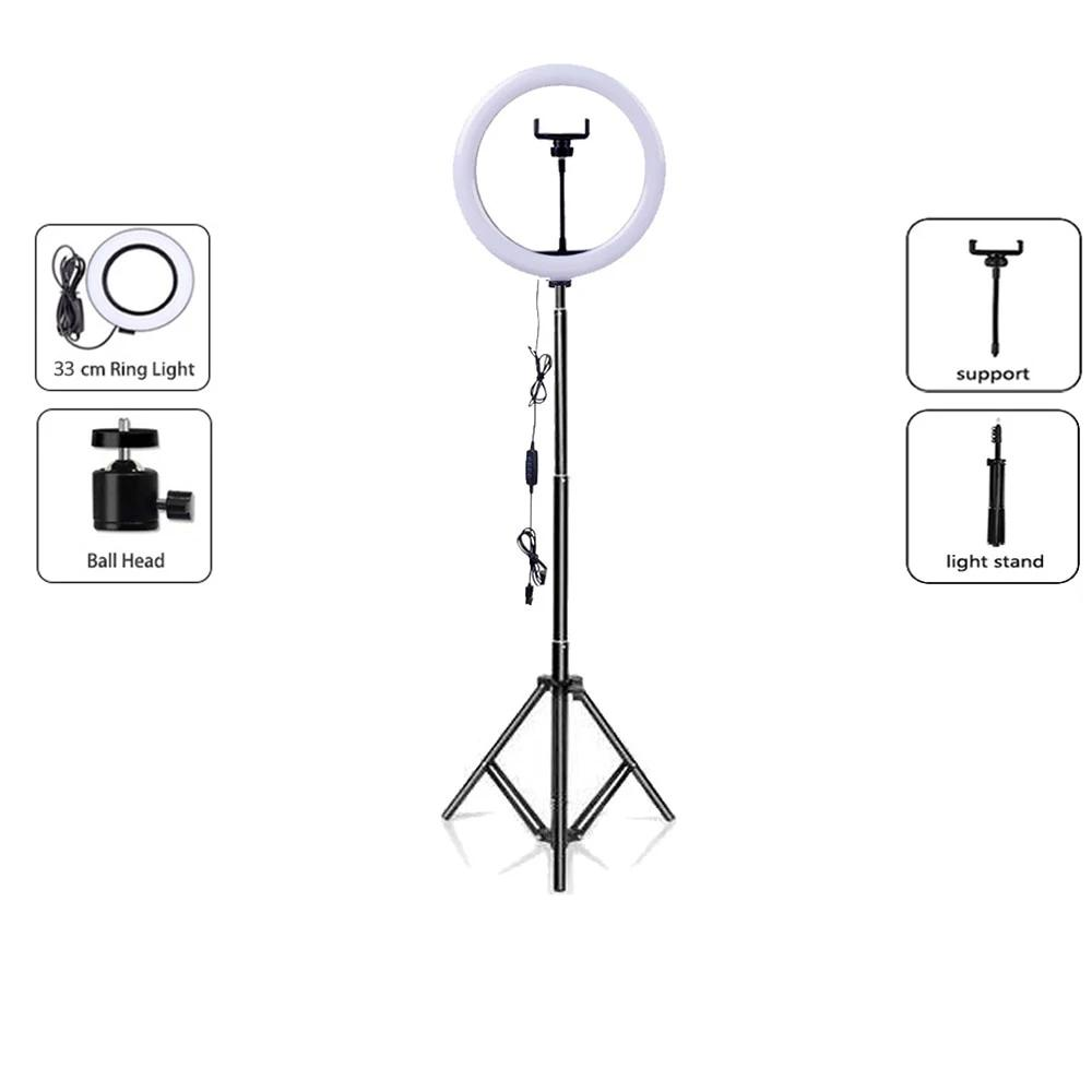 "DIAMOND TRIPOD WITH 12"" LIGHT RING"