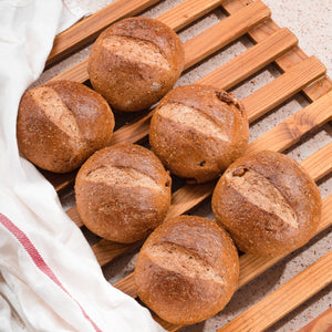 Walnut Wheat Rolls | 6s