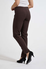 Betty Regular Byxor - Warm Brown