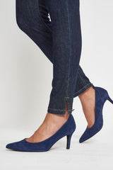 Faith Hot Slim XSL - Dark Blue Denim