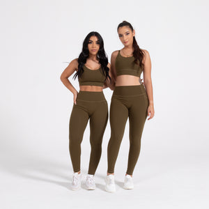 Load image into Gallery viewer, Olive Leggings