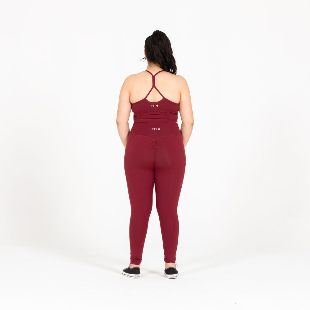 Load image into Gallery viewer, Maroon Tank Bra