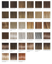 Load image into Gallery viewer, Raquel Welch Crowd Pleaser Heat Friendly Synthetic Wig Color Chart