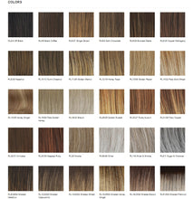 Load image into Gallery viewer, Raquel Welch On Your Game Heat Friendly Synthetic Wig Color Chart