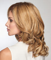 "Load image into Gallery viewer, Raquel Welch On The Go 10"" Heat Friendly Synthetic Wig Topper"