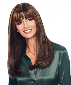 "Raquel Welch Top Billing 18"" Heat Friendly Synthetic Wig Topper"