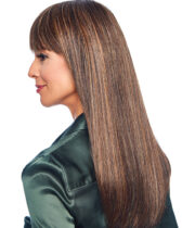 "Load image into Gallery viewer, Raquel Welch Top Billing 18"" Heat Friendly Synthetic Wig Topper"