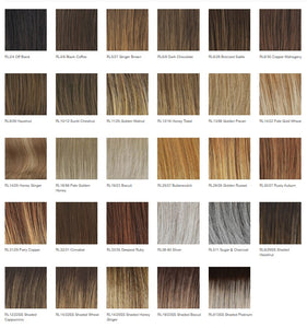 Raquel Welch On Point Heat Friendly Synthetic Wig Color Chart