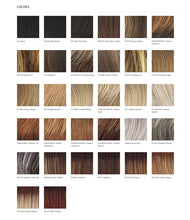 Load image into Gallery viewer, Raquel Welch Free Spirit Vibralite Synthetic Wig Color Chart