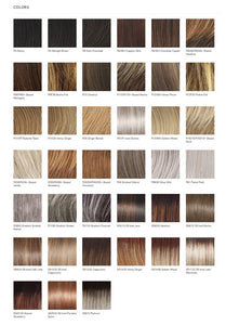 Raquel Welch Winner Elite Vibralite Synthetic Wig Color Chart